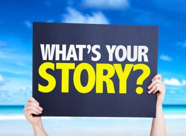 What's Your Story? card