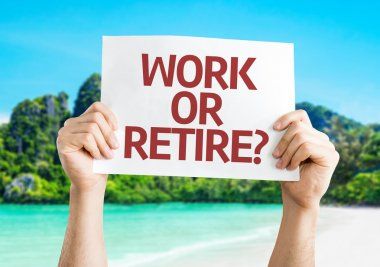 Work or Retire? card