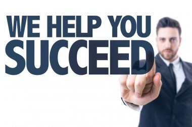 Text: We Help You Succeed