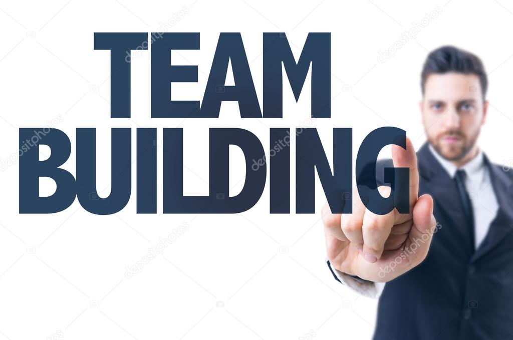 Text: Team Building