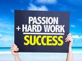 Vášeň a tvrdá práce je úspěch karta