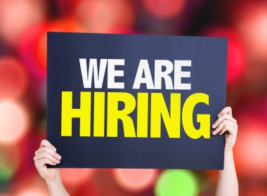 We Are Hiring card
