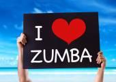 i Love Zumba karta