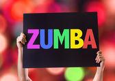Zumba szöveg karton