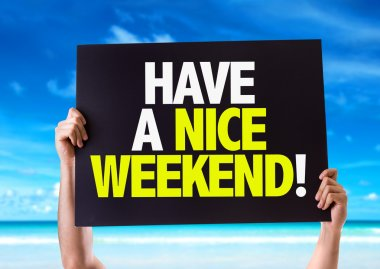Have a Nice Weekend card