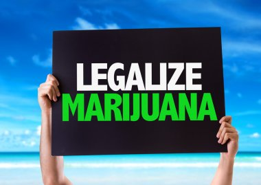 Legalize Marijuana card