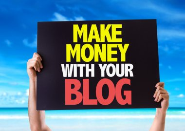 Make Money With Your Blog card