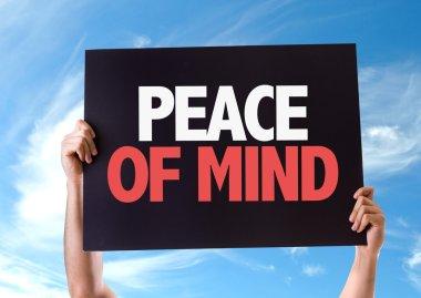 Peace of Mind card