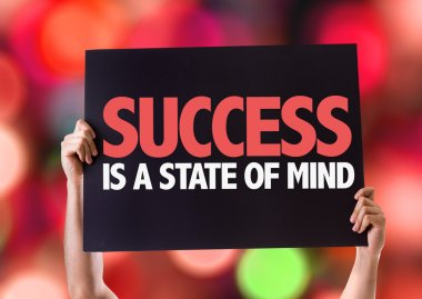 Success Is a State of Mind card