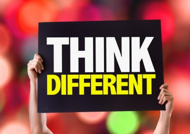 Think Different card