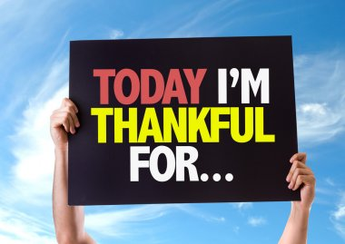 Today Im Thankful For... card