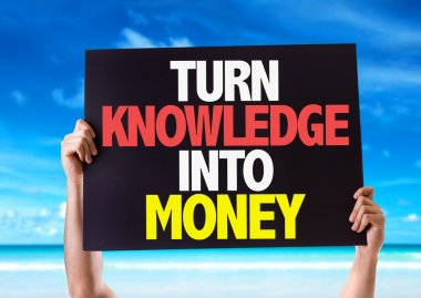 Turn Knowledge Into Money card