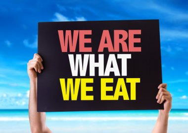 we Are What You Eat card