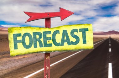 Forecast text sign