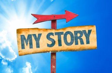 """Картина, постер, плакат, фотообои """"текст моей истории """", артикул 73417903"""
