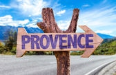 Vývěsní štít Provence