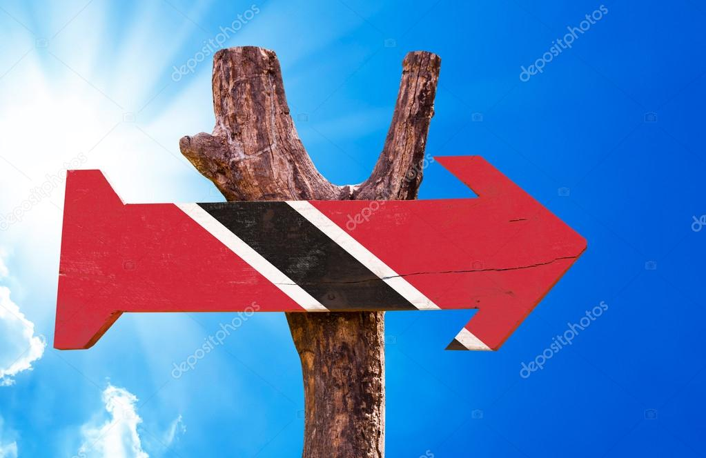 Trinidad and Tobago Flag sign