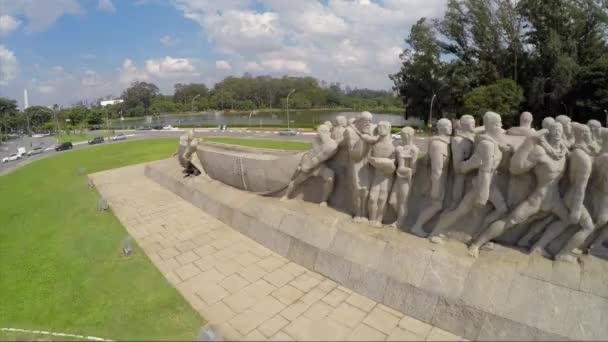 Zászlók emlékmű Ibirapuera Park