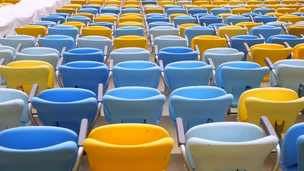 Colored Seating rows