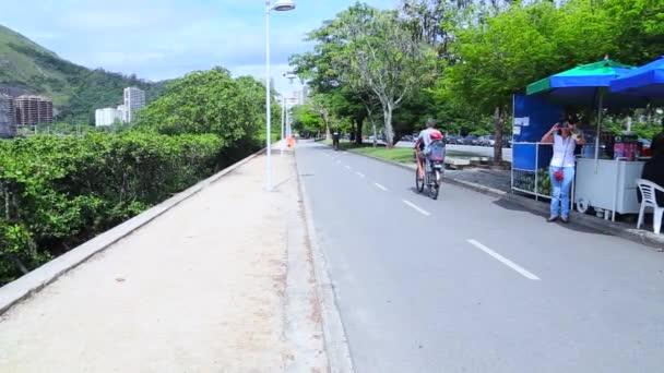 Pohled na ulice v přední Rodrigo
