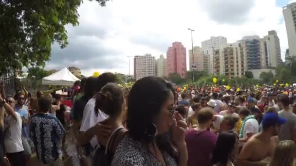 People Celebrating Carnaval Party