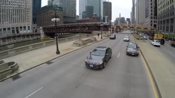 Jízda na ulicích Chicaga