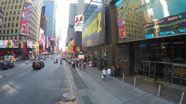 Panoramic view of the Times Square