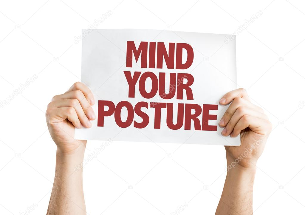 Mind Your Posture card
