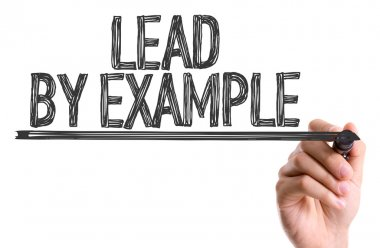 Text Lead By Example