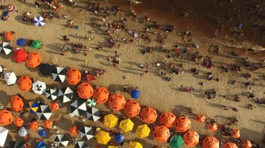 Aerial View of Beach in Rio de Janeiro, Brazil