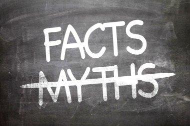 Facts Myths written