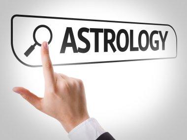 Astrology written in search bar