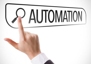 Automation written in search bar