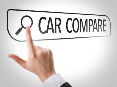Car Compare written in search bar