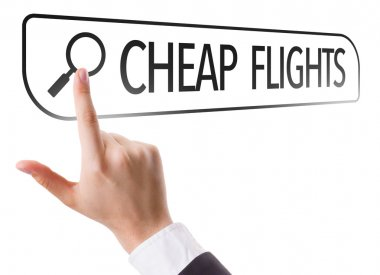 Cheap Flights written in search bar