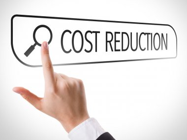 Cost Reduction written in search bar