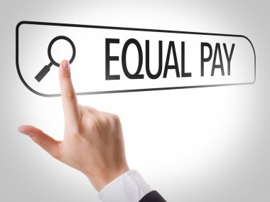 Equal Pay written in search bar