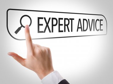 Expert Advice written in search bar