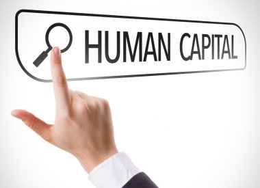 Human Capital written in search bar