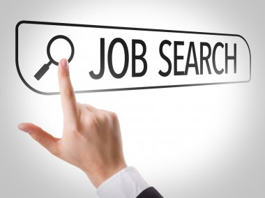 Job Search written in search bar