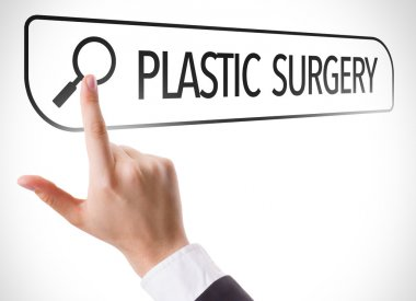 Plastic Surgery written in search bar