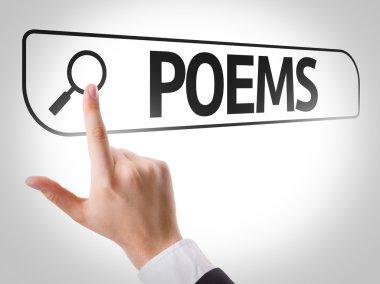 Poems written in search bar