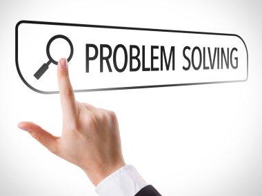Problem Solving written in search bar