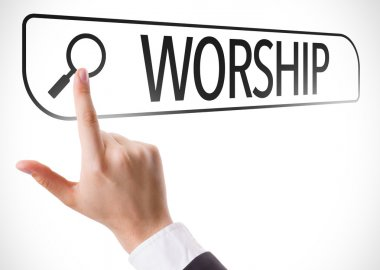 Worship written in search bar