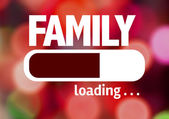 Fotografie Bar Loading with the text: Family