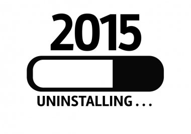 Bar Uninstalling with the text: 2015