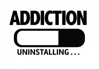 Bar Uninstalling with the text: Addiction