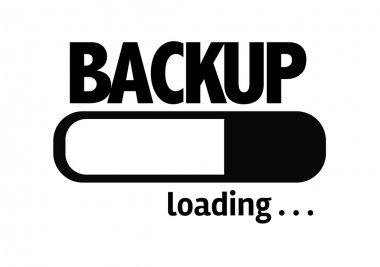 Bar Loading with the text: Backup