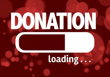 Bar Loading with the text: Donation