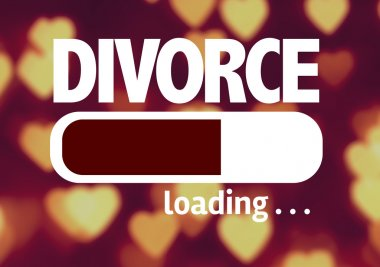 Bar Loading with the text: Divorce